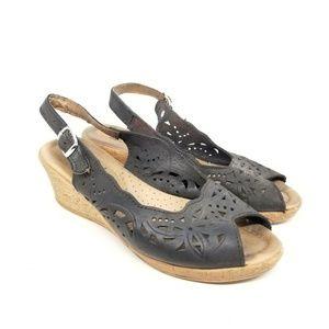 Spring Step Wedge Sandal EUR 38/US 10